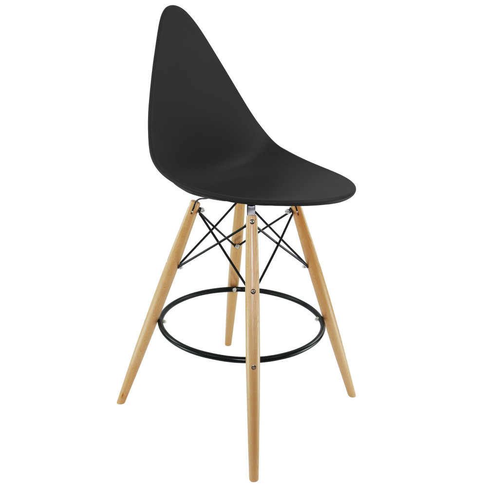 Tabouret dsw drop for Fauteuil dsw eames