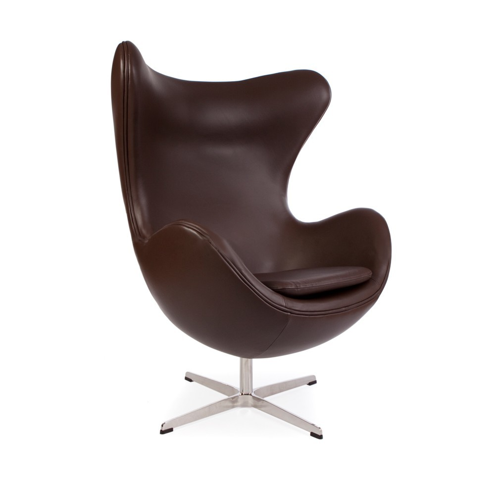 fauteuil oeuf en cuir - Fauteuil Oeuf