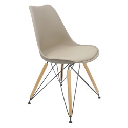 Chaise Tulipe DSR Naturel