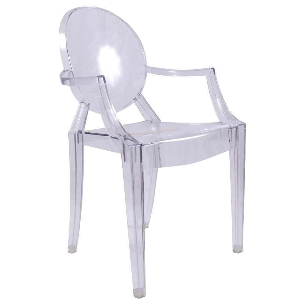 chaise ghost accoudoire loading zoom - Chaise Transparente