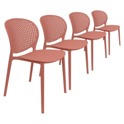 Lot 4 Chaises Pongo