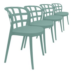 Lot 4 Chaises Ophelia