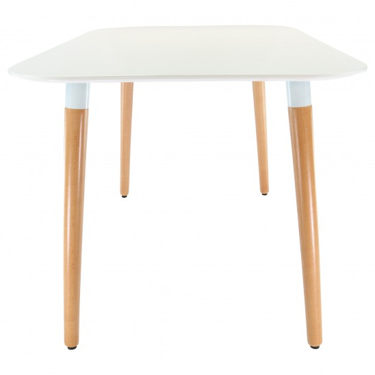 Table scandinave carr e for Table scandinave soldes