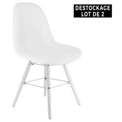 Chaises Moon Destock x2