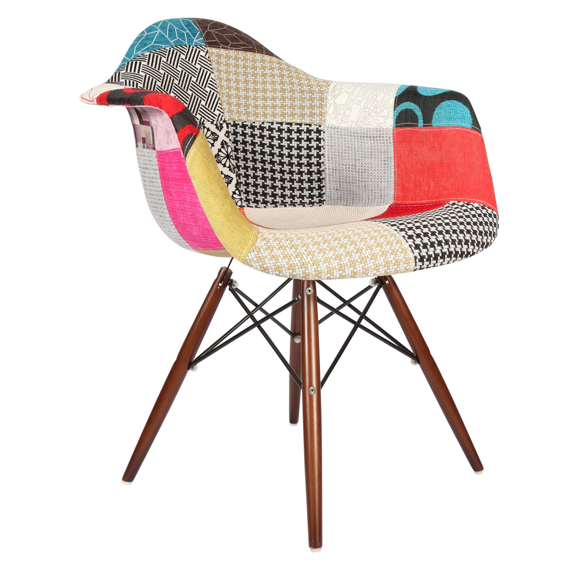 Chaise patchwork eames for Chaise patchwork xl style