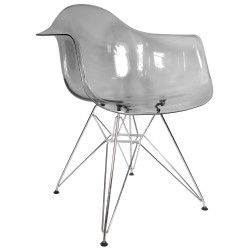 Fauteuil Transparent Design DAR Ghost