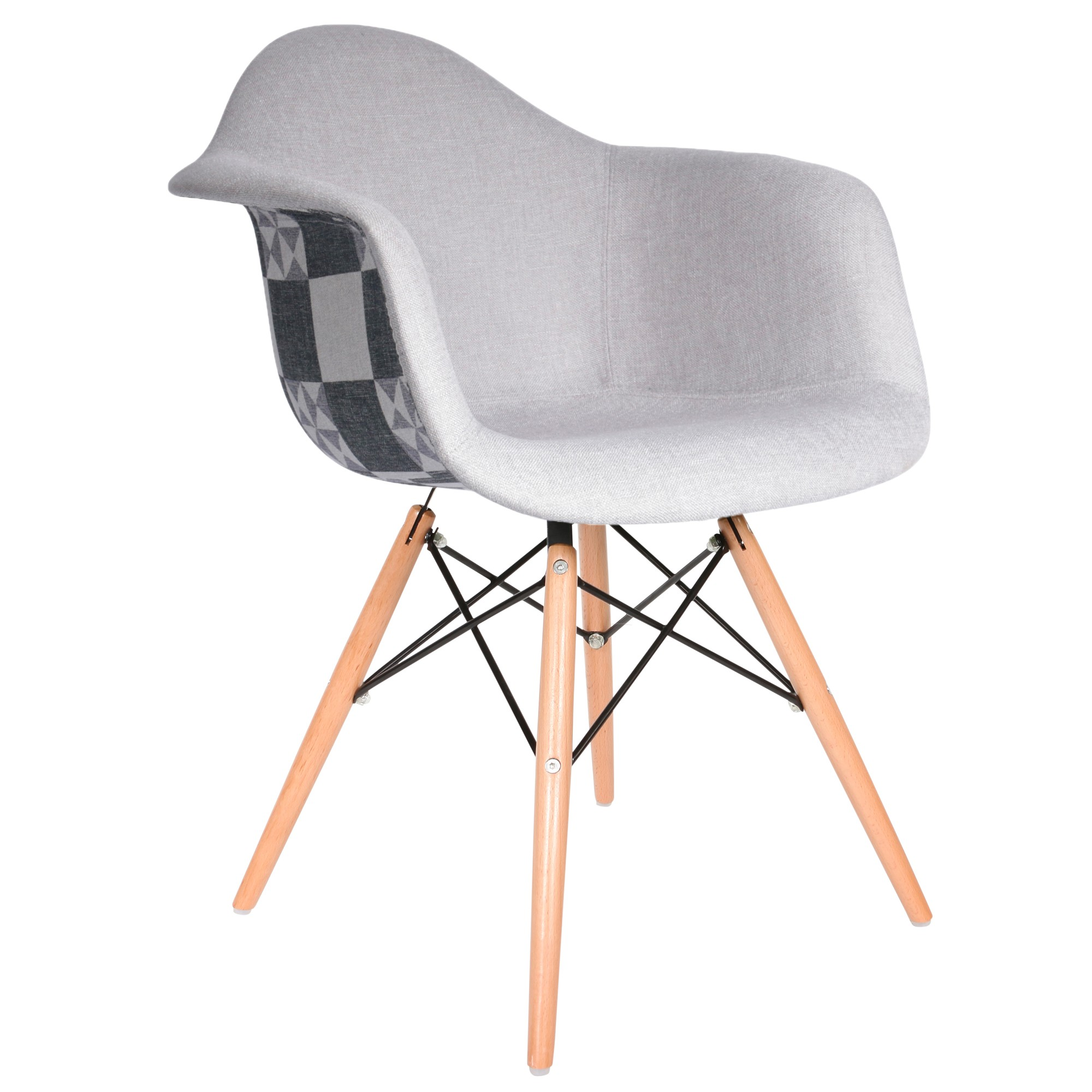 eames fauteuil Chaise Patchwork. Loading zoom