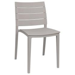 Chaise de Jardin en Plastique Elettra