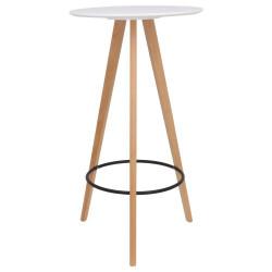 Table Haute Scandinave en Bois SPWS