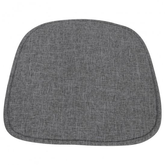 coussin gris foncé chaise scandinave