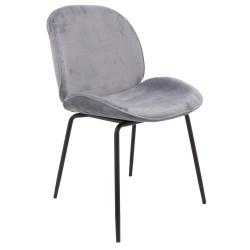 Chaise en Velours Cotham