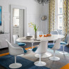 Chaise Tulipe avec table
