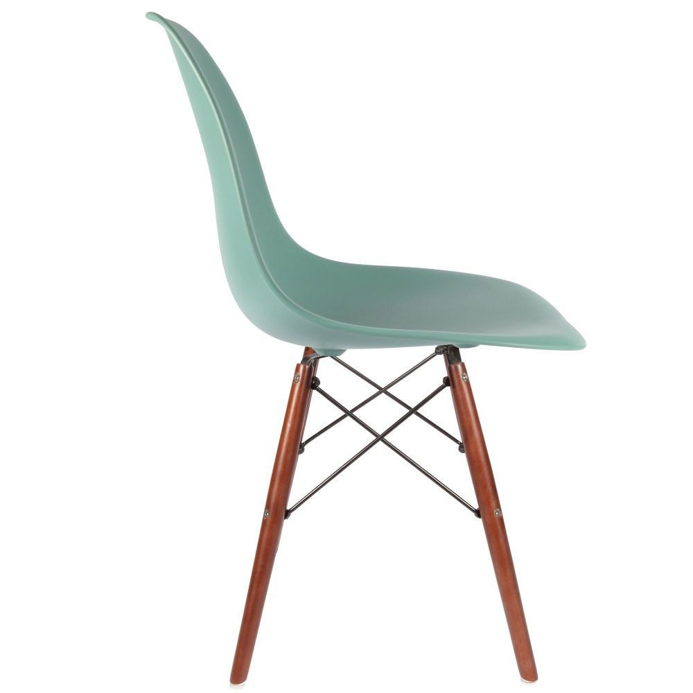 Chaise dsw pieds en noyer for Soldes chaises dsw