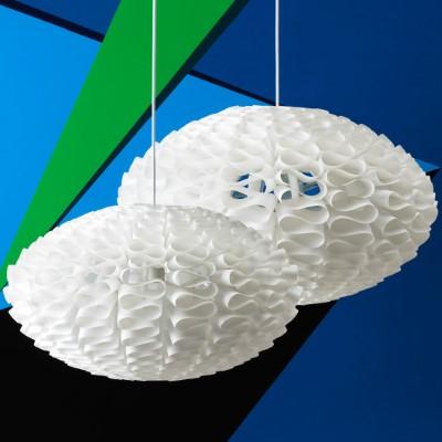 Lampe moderne graphique NORM 03 - steel
