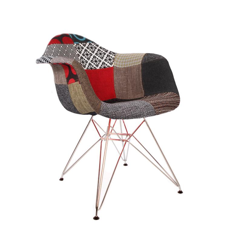Chaise scandinave tissu