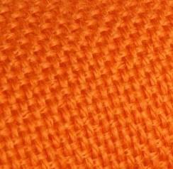 Tissu Orange Vif